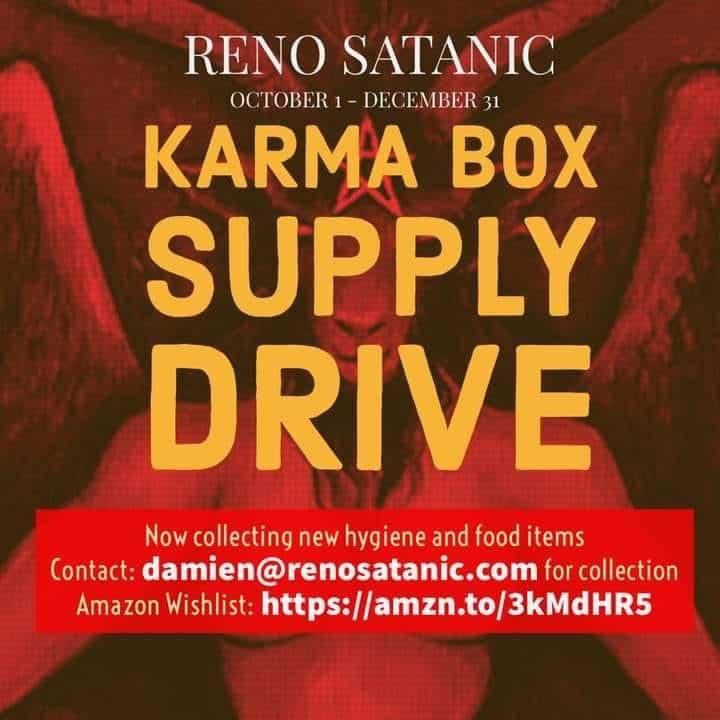 Reno Satanic Karma Box Drive